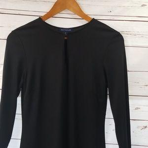 Ann Taylor Black Sheath Dress 4